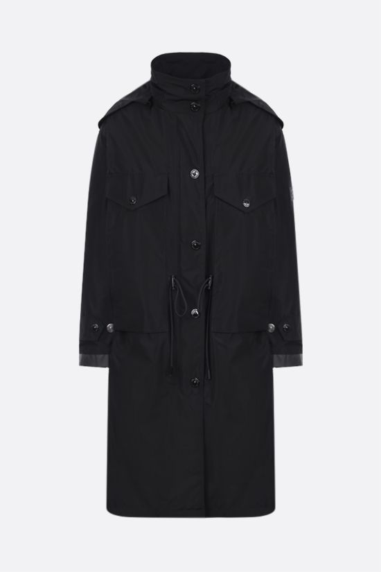 BURBERRY: Colney taffeta parka Color Black_1
