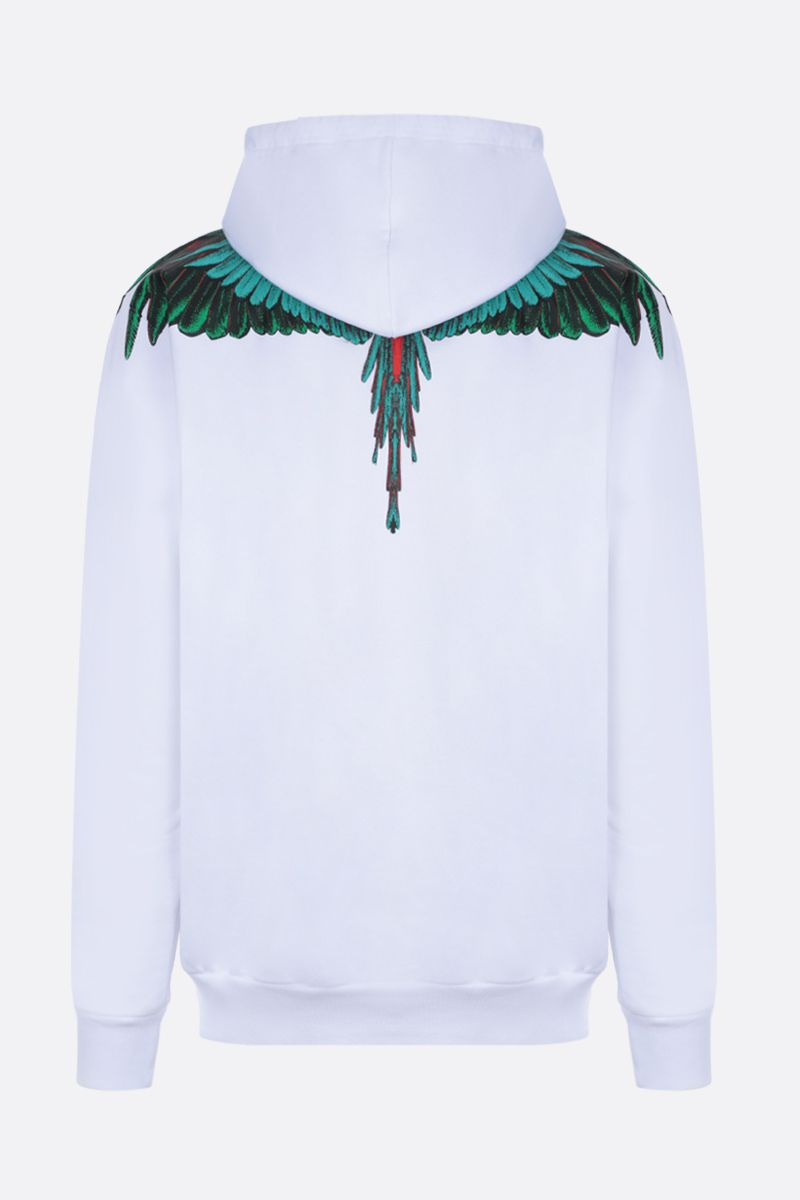 MARCELO BURLON COUNTY OF MILAN: felpa in jersey stampa Wings_2
