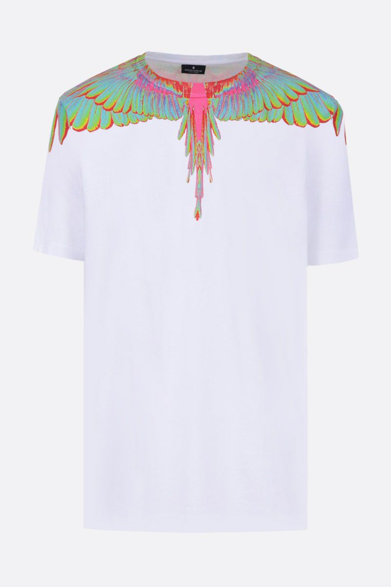 MARCELO BURLON COUNTY OF MILAN: t-shirt in jersey stampa Wings_1