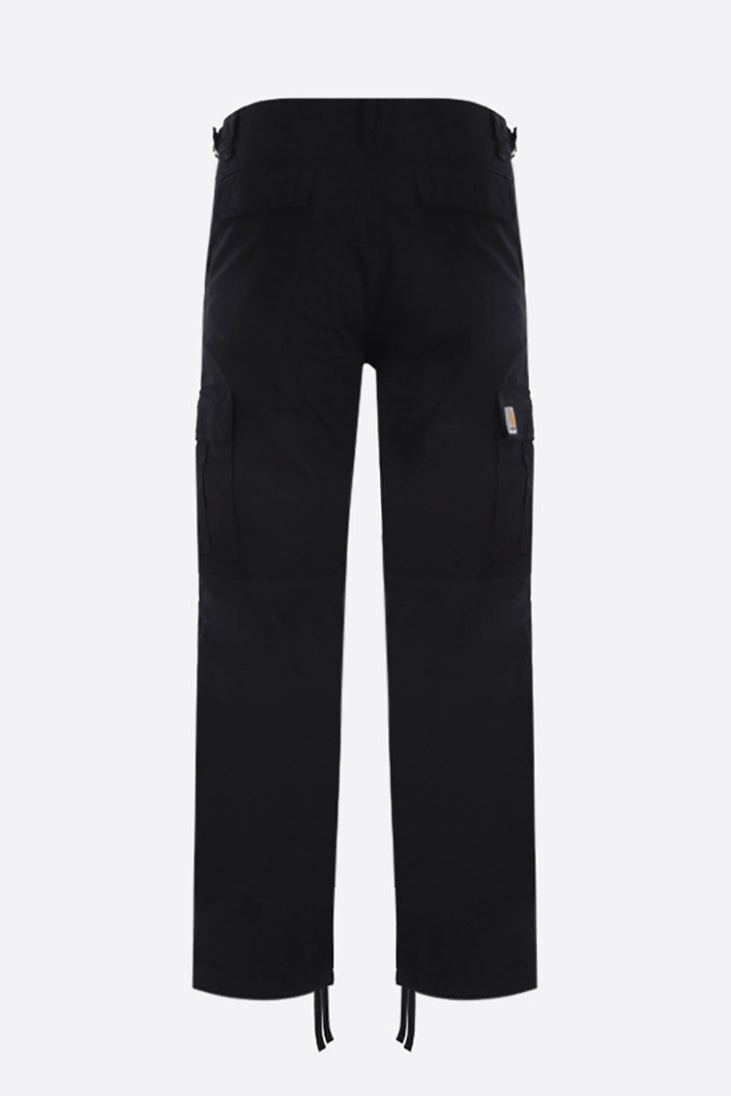 CARHARTT WIP: Aviation cotton ripstop cargo pants Color Black_2