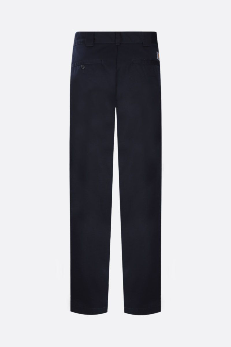 CARHARTT WIP: pantalone Master in twill Colore Blue_2