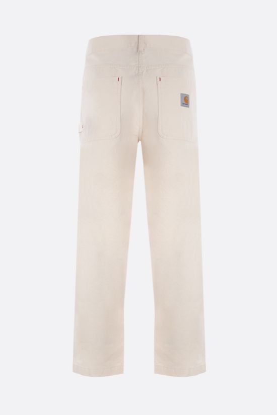 CARHARTT WIP: Wesley cotton drill pants Color Neutral_2