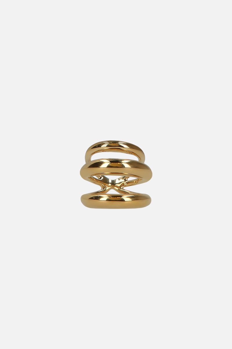 CHARLOTTE CHESNAIS: Echo ring in gold vermeil Color Gold_1
