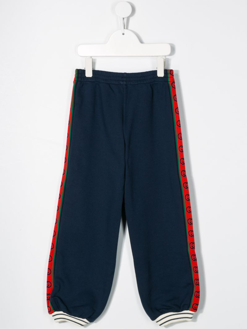 GUCCI CHILDREN: GG bands cotton joggers_2