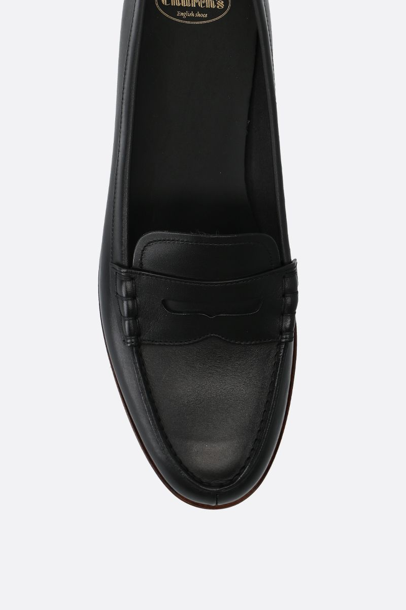 CHURCH'S: Kara 2 loafers in brushed leather Color Black_4