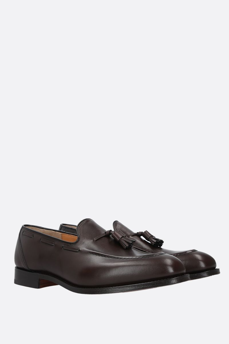 CHURCH'S: Kingsley 2 loafers in Nevada leather Color Brown_2