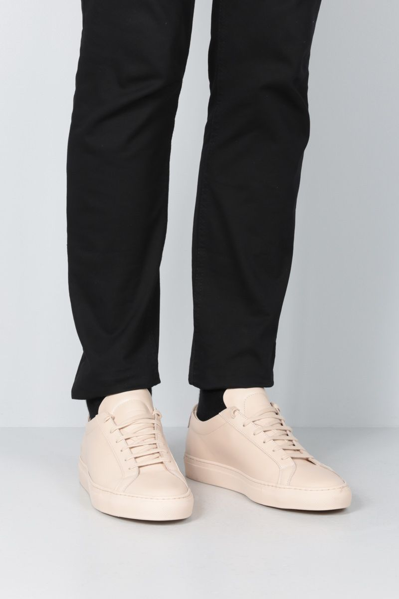 COMMON PROJECTS: sneaker Original Achilles in pelle liscia Colore Neutro_2