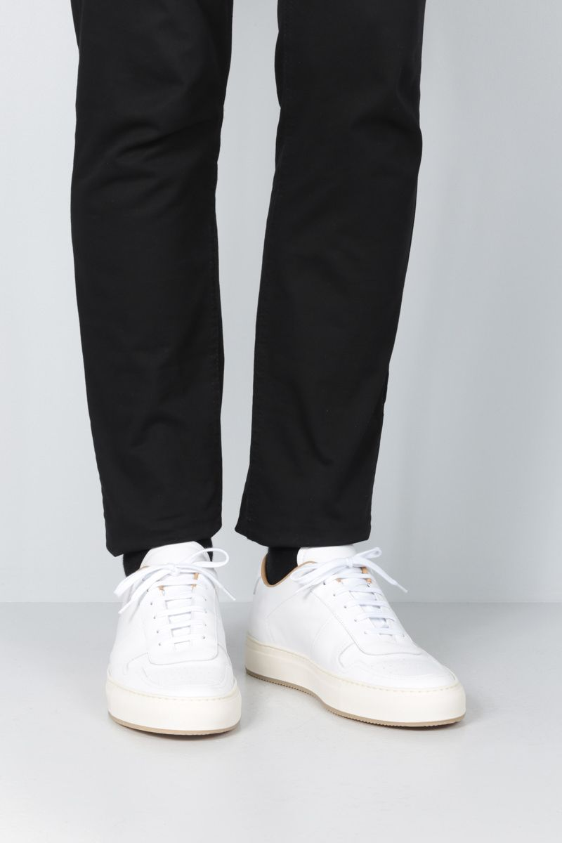 COMMON PROJECTS: BBall 88 sneakers in smooth leather_2