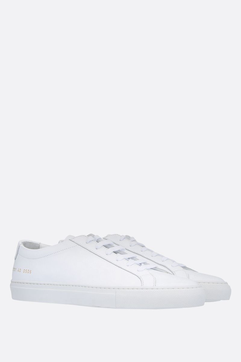COMMON PROJECTS: Original Achilles smooth leather sneakers Color White_2