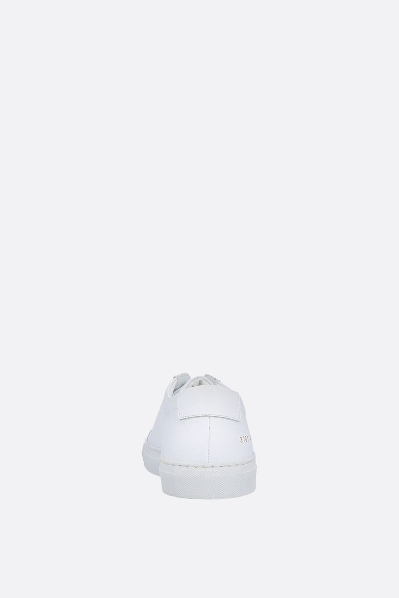 COMMON PROJECTS: Original Achilles smooth leather sneakers Color White_3