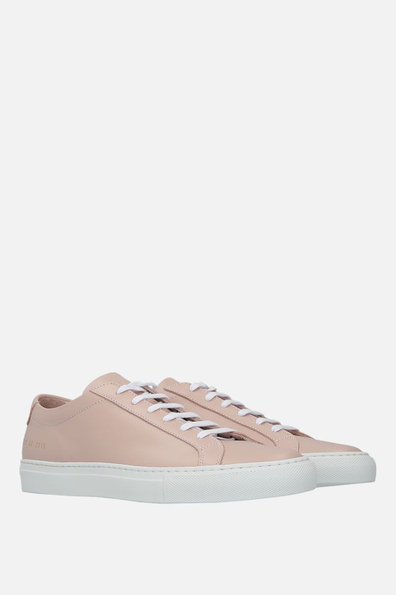 COMMON PROJECTS: Achilles sneakers in smooth leather Color Pink_2