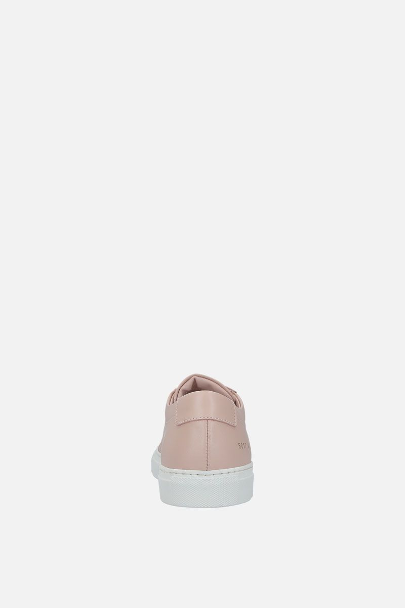 COMMON PROJECTS: Achilles sneakers in smooth leather Color Pink_3