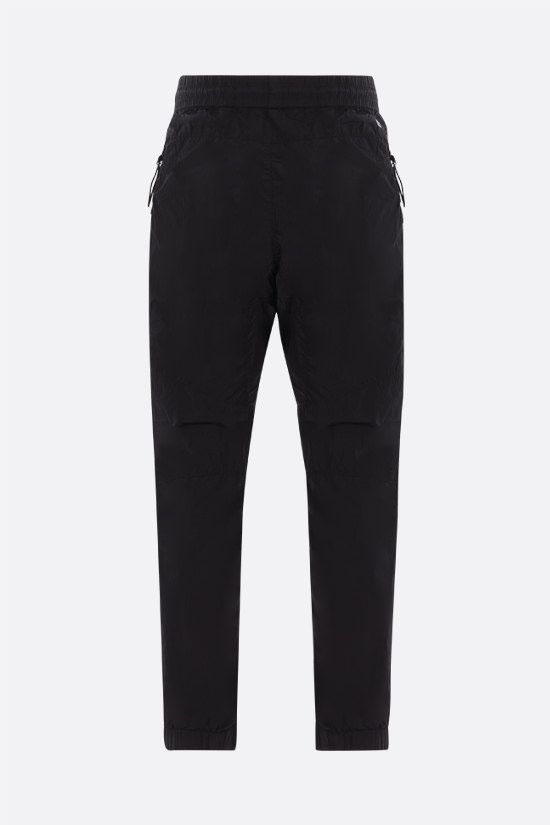 CP COMPANY: Chrome-R fabric nylon joggers Color Black_2