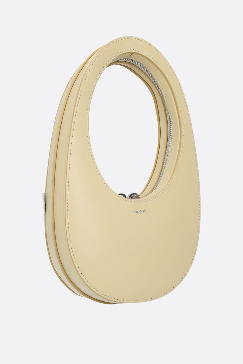 COPERNI: Swipe mini smooth leather shoulder bag Color Yellow_2