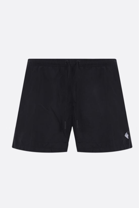 MARCELO BURLON COUNTY OF MILAN: Cross nylon swim shorts Color Black_1