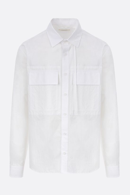CRAIG GREEN: lace-embellished shirt Color White_1