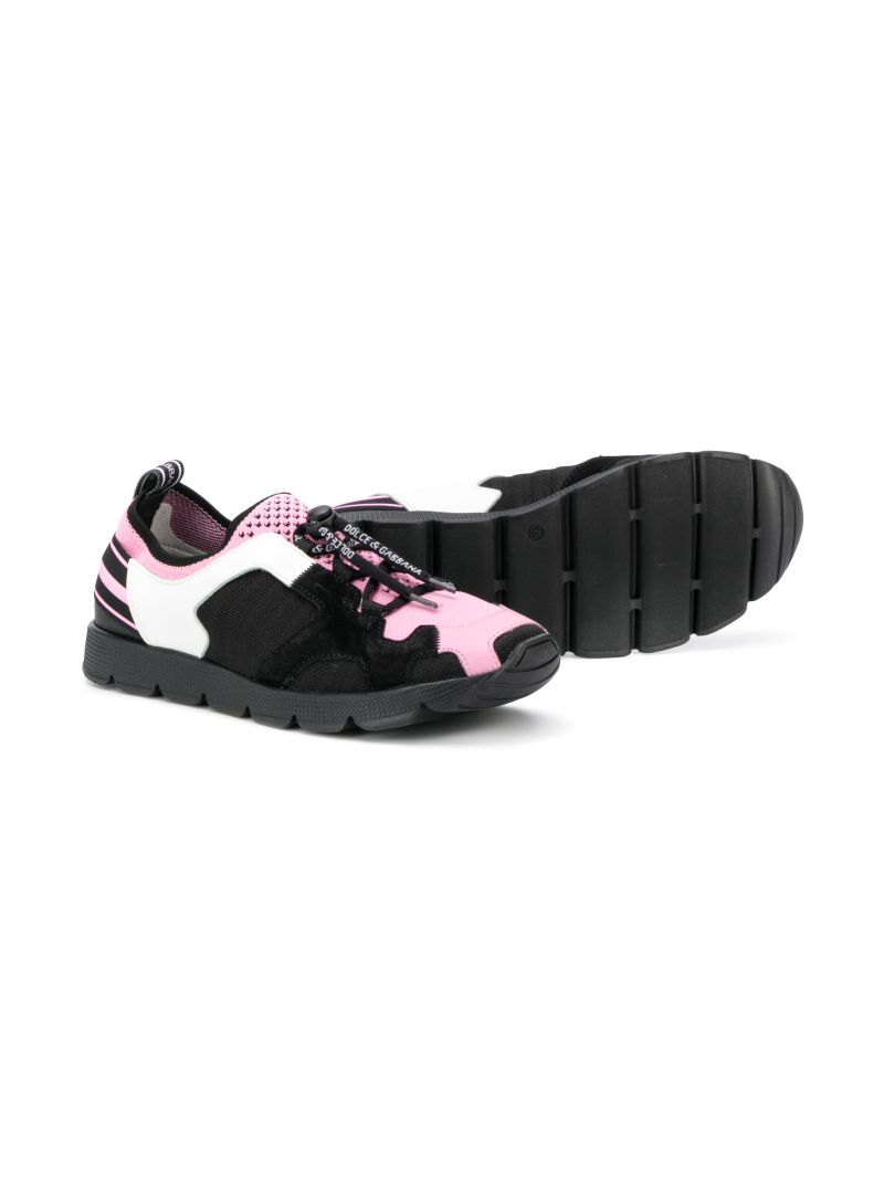 DOLCE & GABBANA CHILDREN: Sorrento sneakers in stretch knit_2
