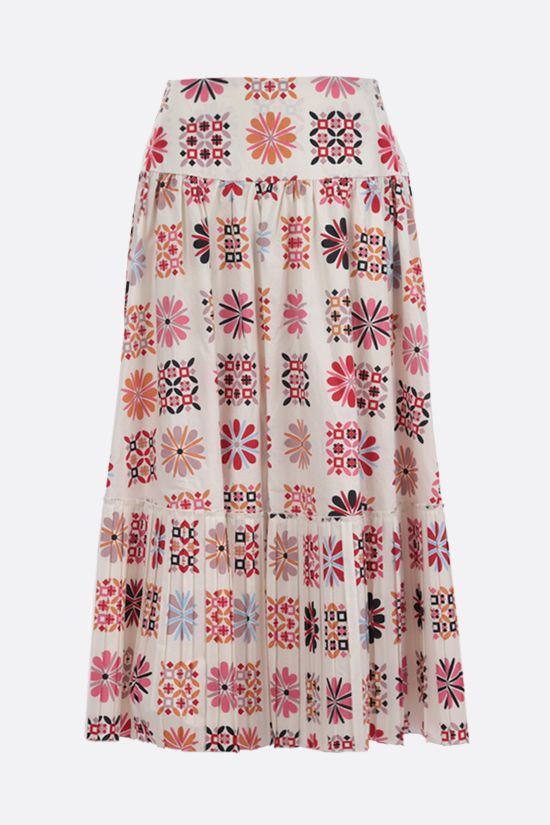 LA DOUBLE J: Balletto cotton midi skirt Color Multicolor_1