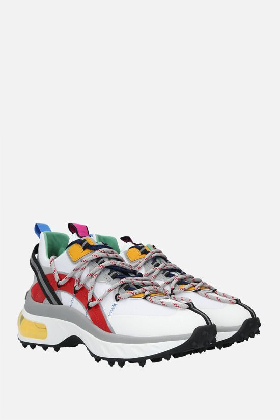 DSQUARED2: Active Bubble nylon and PVC sneakers Color Multicolor_2