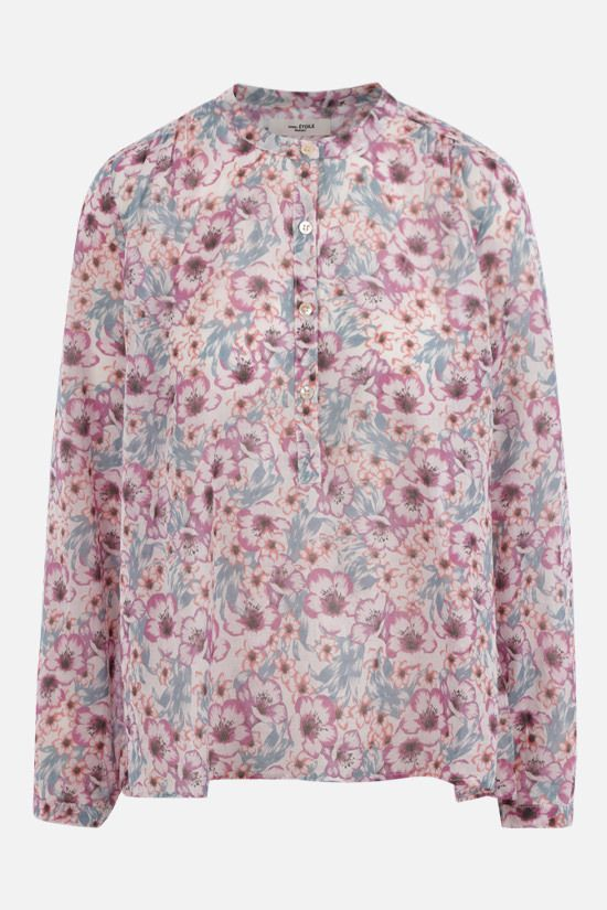 ISABEL MARANT ETOILE: Maria cotton blouse Color Multicolor_1
