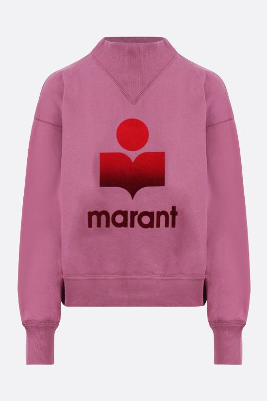 ISABEL MARANT ETOILE: Moby cotton sweatshirt Color Pink_1