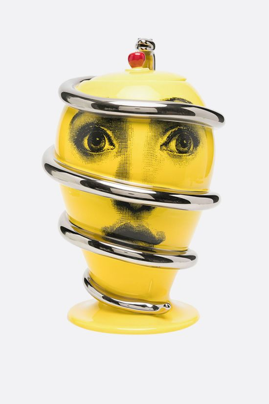 FORNASETTI: Peccato Originale ceramic vase Color Yellow_1