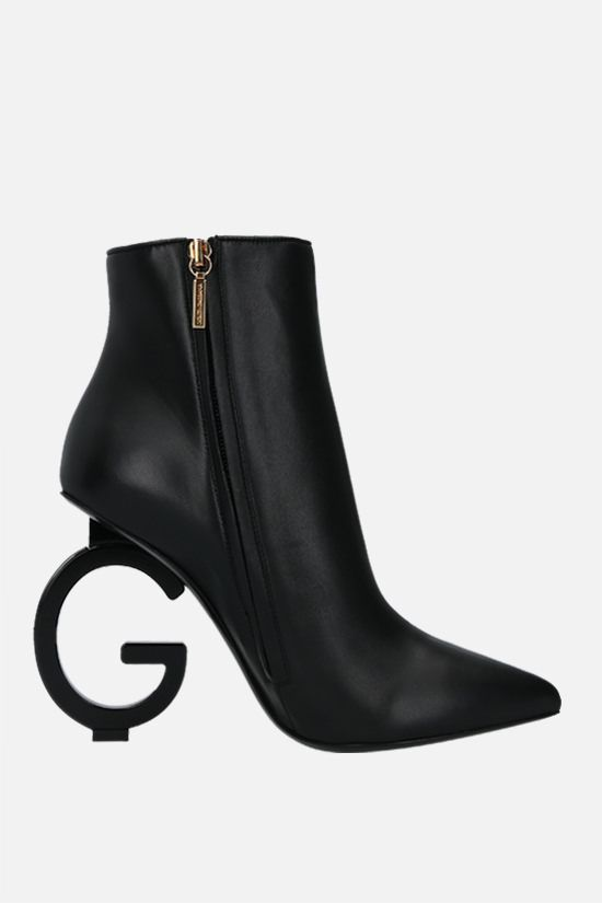 DOLCE & GABBANA: Devotion soft nappa ankle boots Color Black_2