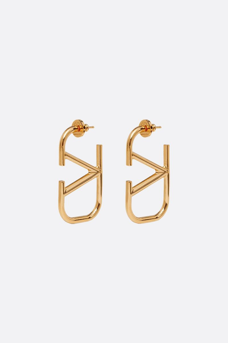 VALENTINO GARAVANI: VLOGO metal earrings_1