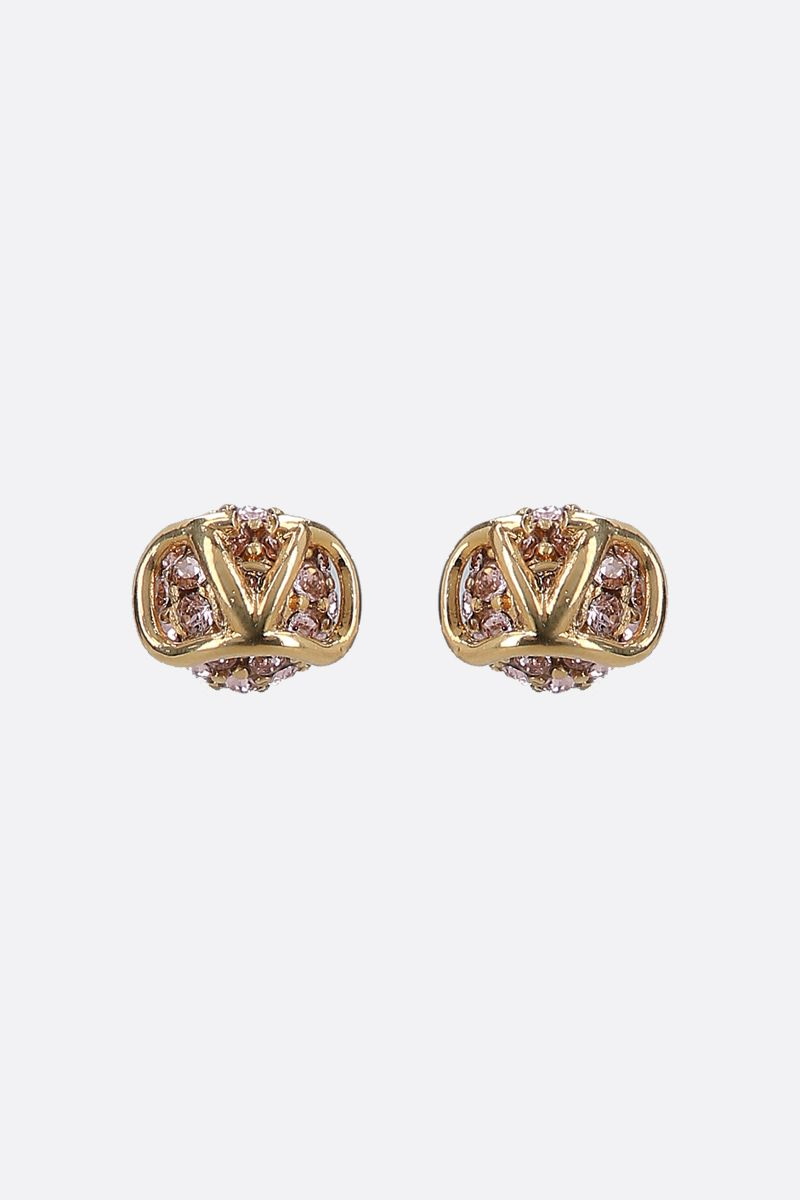VALENTINO GARAVANI: VLOGO Signature metal earrings_1