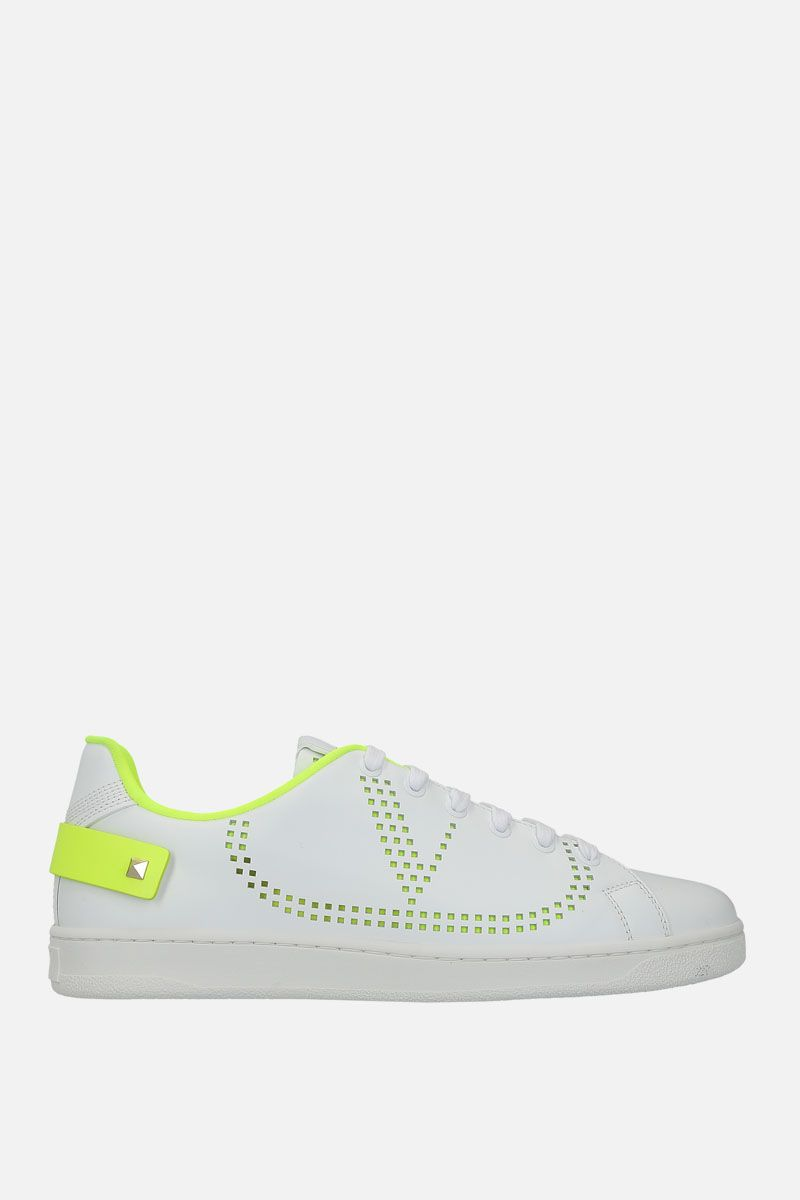 VALENTINO GARAVANI: Backnet smooth leather sneakers_1