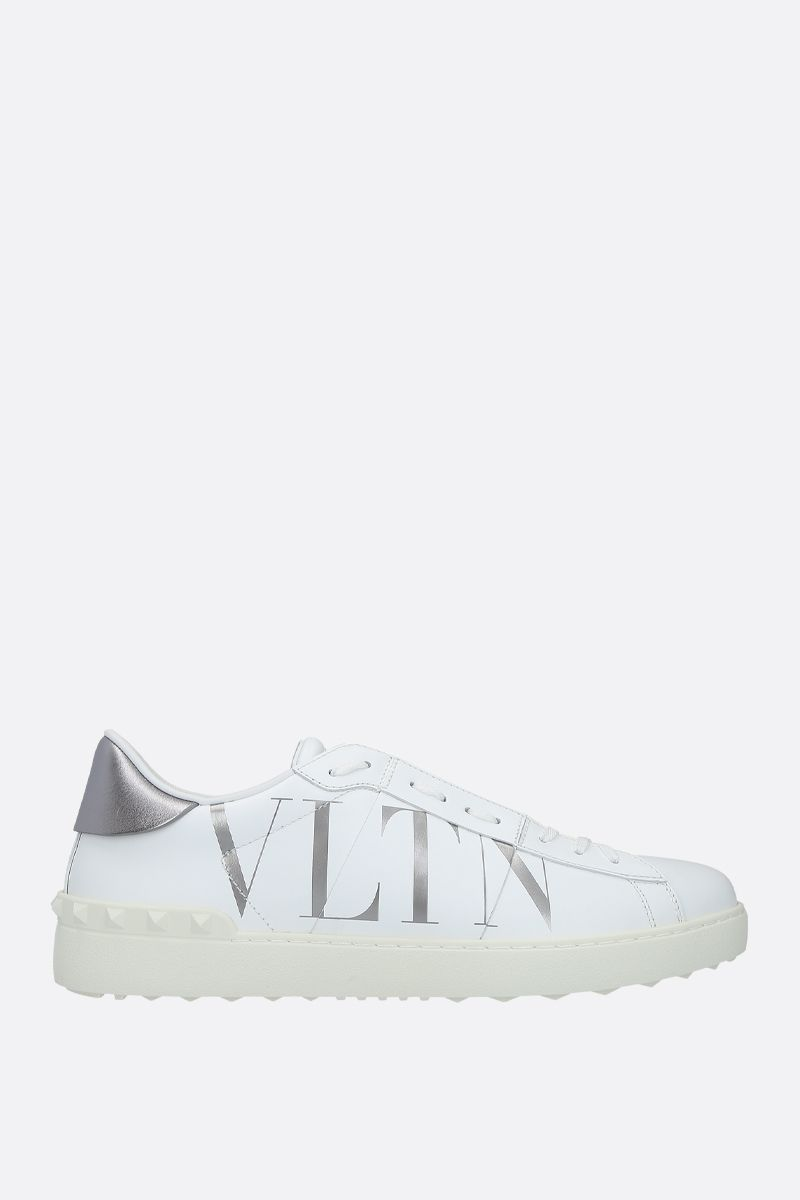 VALENTINO GARAVANI: Open VLTN smooth leather sneakers_1
