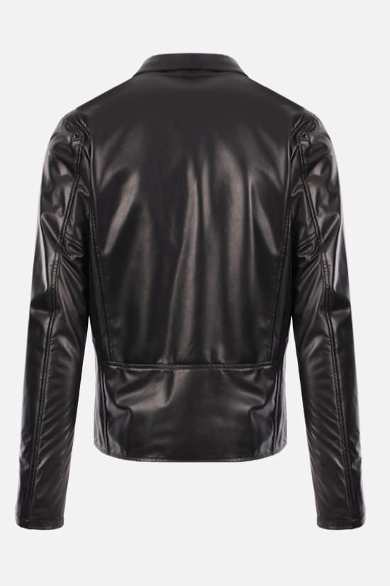 GIORGIO BRATO: nappa biker jacket Color Black_2