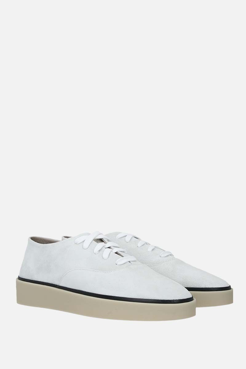 FEAR OF GOD for Ermenegildo Zegna: FEAROFGODZEGNA suede sneakers Color White_2