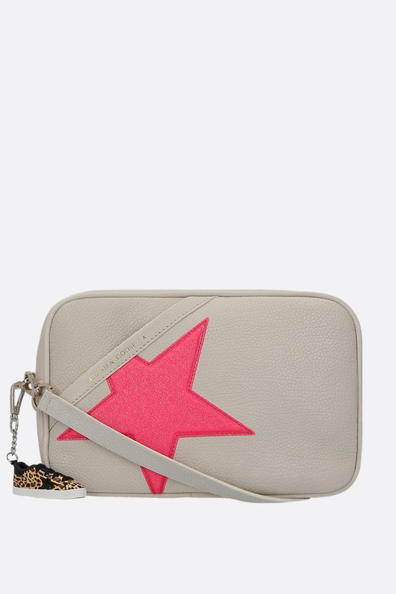 GOLDEN GOOSE DELUXE BRAND: Star crossbody bag in grainy leather_1