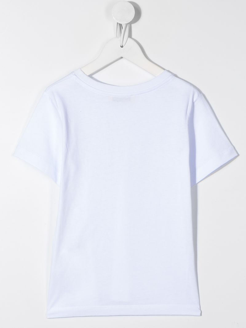 GOLDEN GOOSE DELUXE BRAND KIDS: Venice cotton t-shirt Color White_2