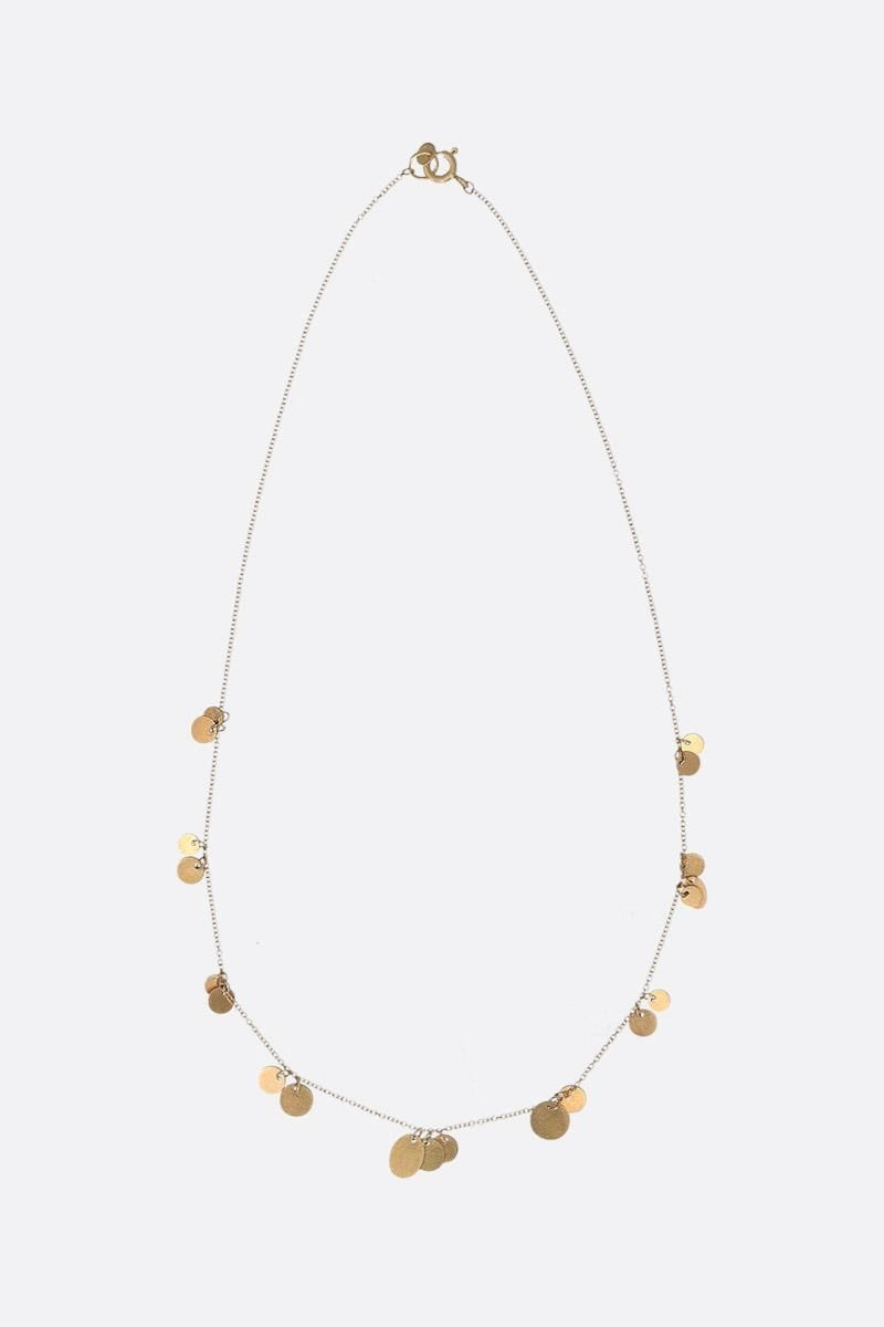 LIA DI GREGORIO: Piani yellow gold necklace Color Gold_1