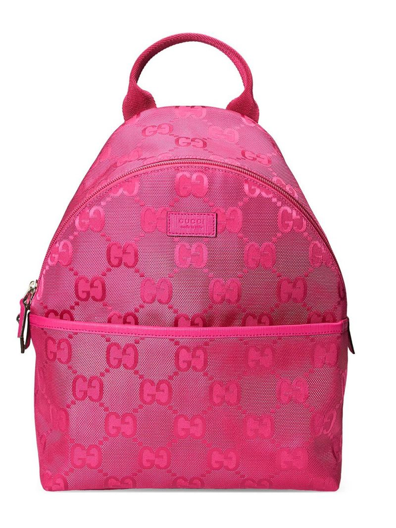 GUCCI CHILDREN: GG ECONYL® backpack Color Multicolor_1