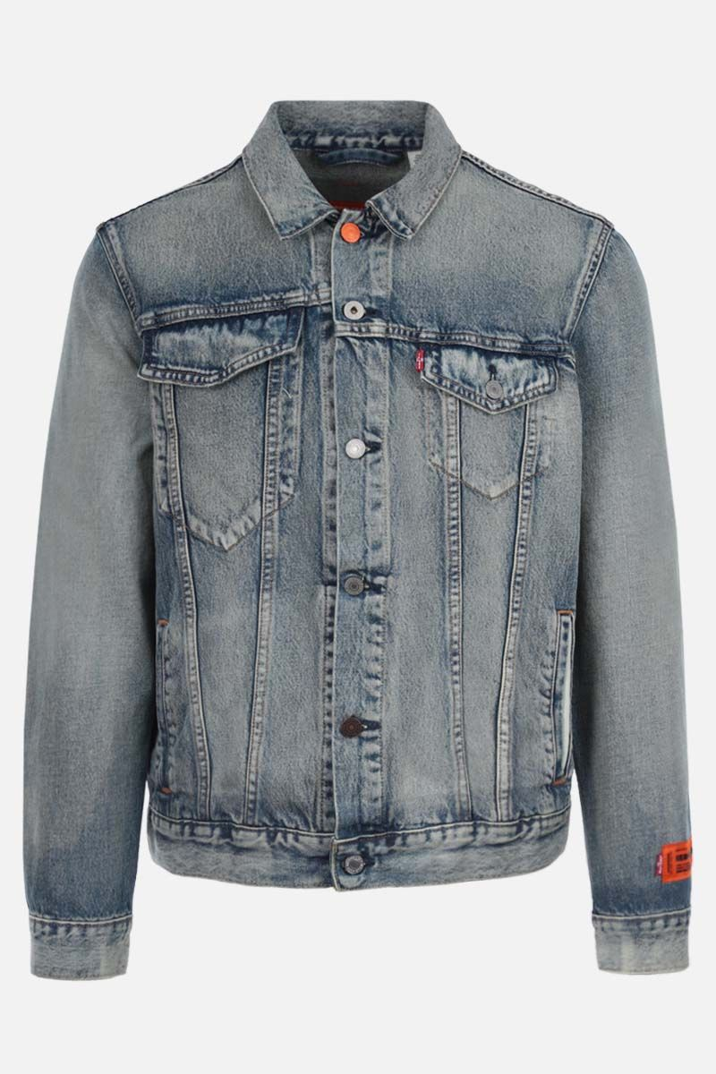 HERON PRESTON: Levi's denim jacket Color Multicolor_1