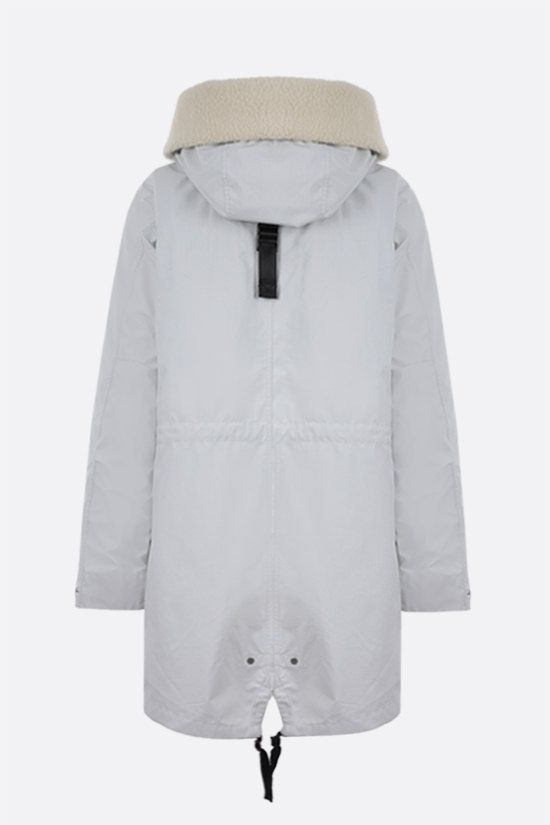 IENKI IENKI: oversize Gore Tex fabric parka Color White_2