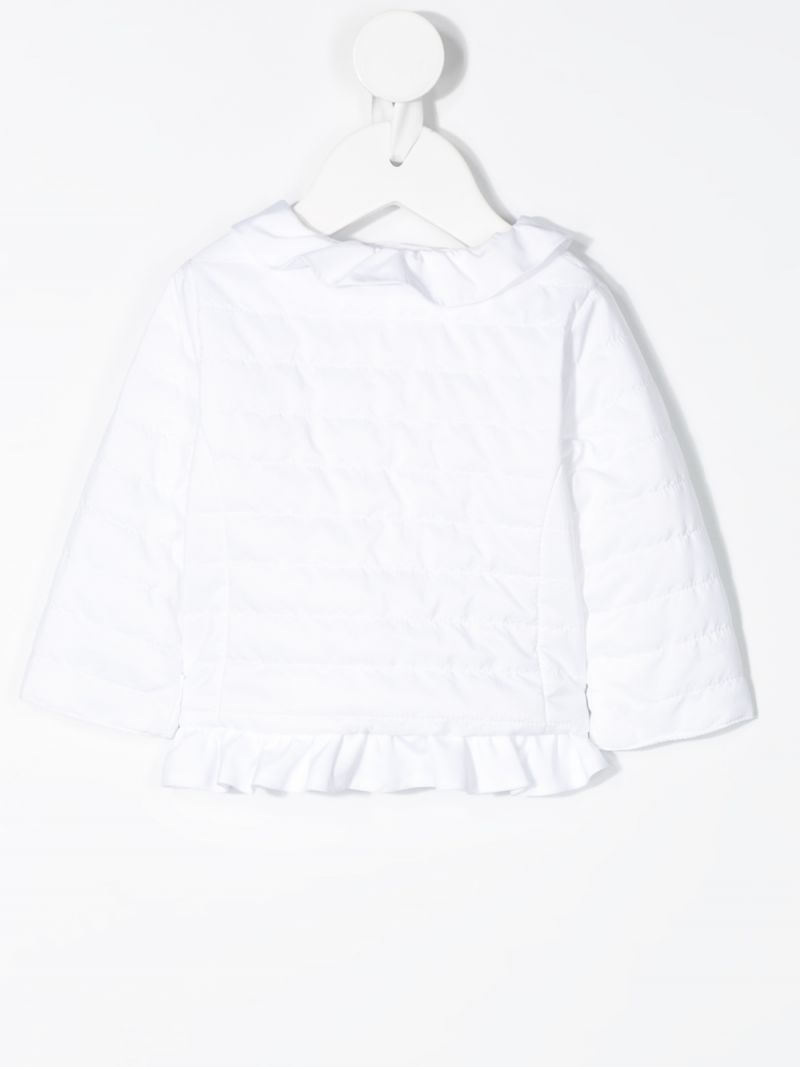 IL GUFO: nylon quilted jacket Color White_2