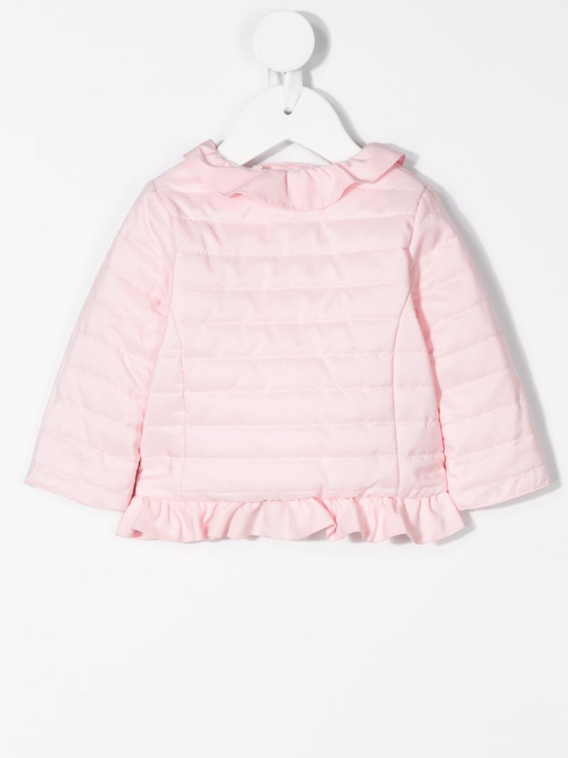 IL GUFO: nylon quilted jacket Color Pink_2