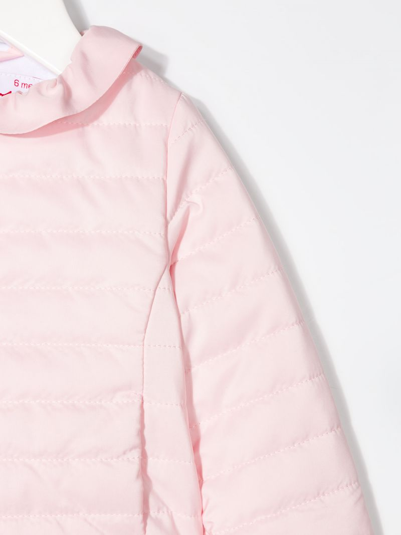 IL GUFO: nylon quilted jacket Color Pink_3