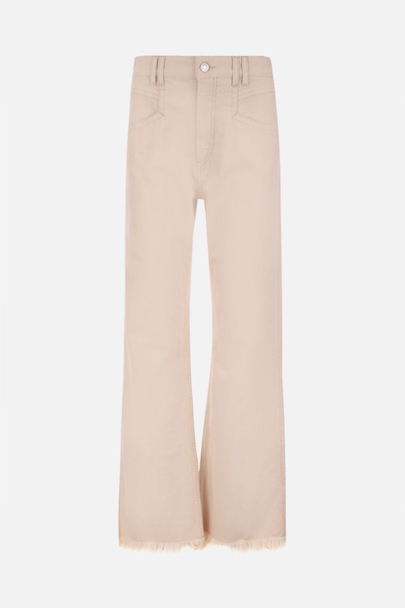 ISABEL MARANT: Elvira straigh-fit jeans Color Neutral_1