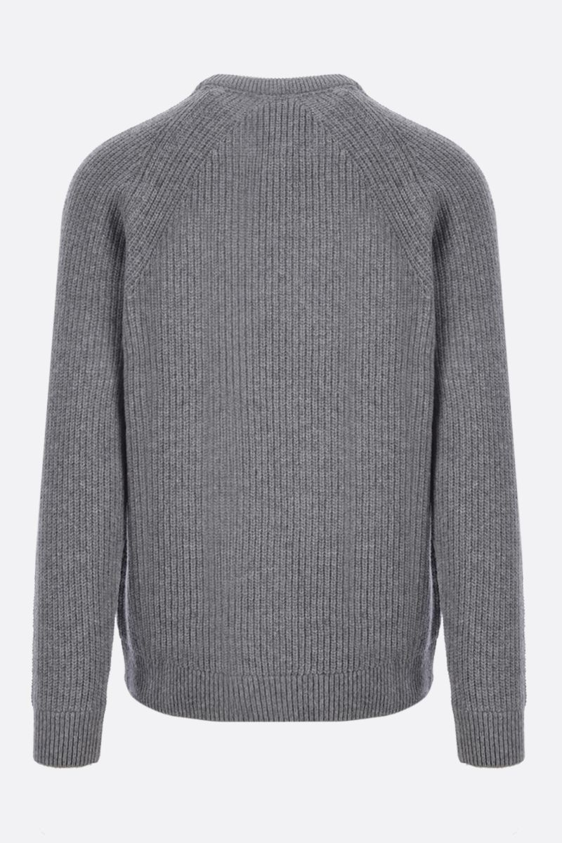 BARBOUR MADE FOR JAPAN: wool pullover Color Grey_2