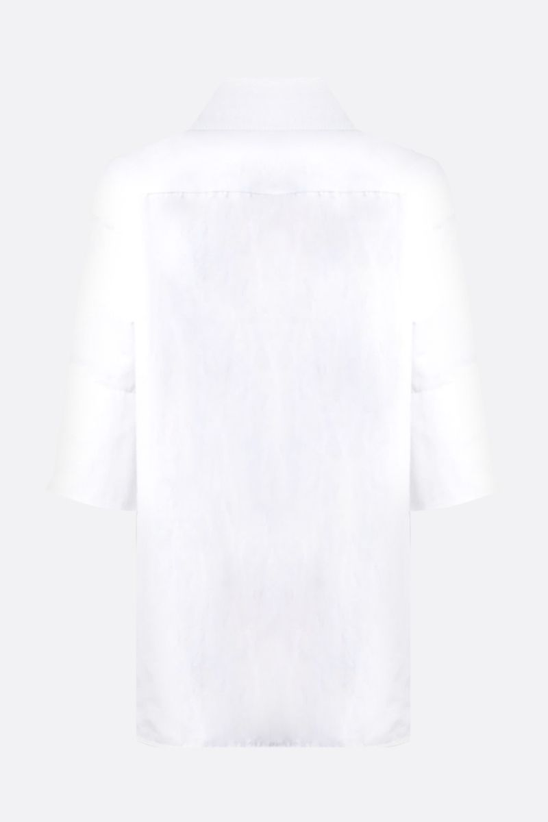JIL SANDER: Magda cotton blouse Color White_2