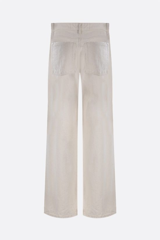 JIL SANDER: cropped wide-leg jeans Color Neutral_2