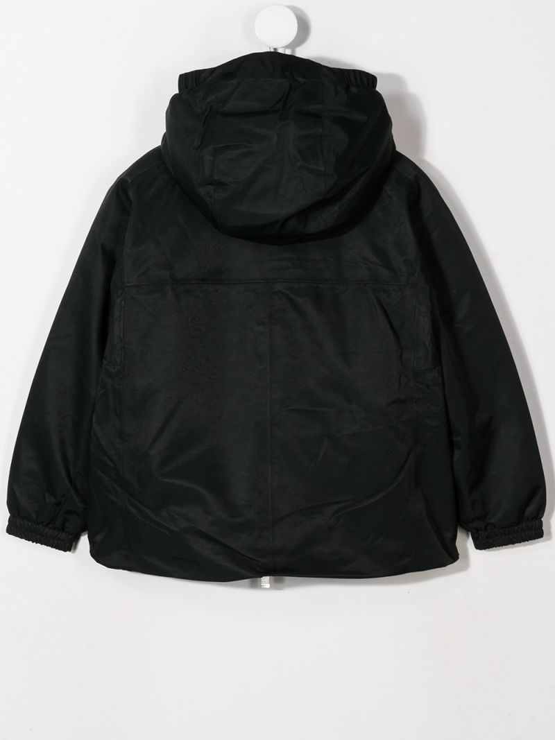 K-WAY KIDS: Marie nylon windbreaker Color Black_2