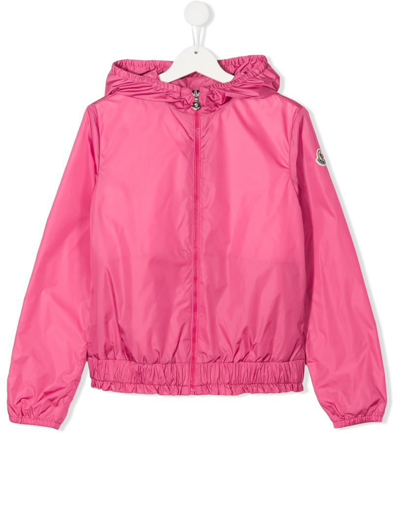 MONCLER KIDS: Erinette nylon windbreaker Color Pink_1