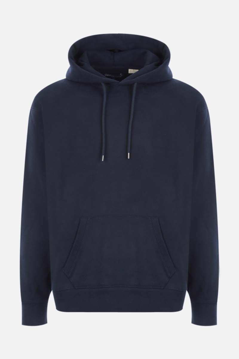 LEVI'S MADE & CRAFTED: jersey hoodie Color Blue_1