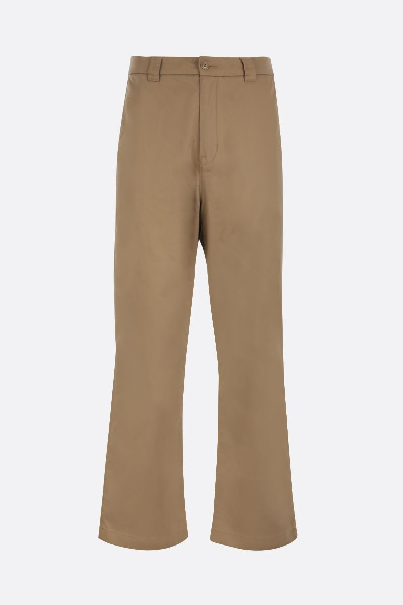 LEVI'S MADE & CRAFTED: realxed-fit gabardine chinos Color Neutral_1